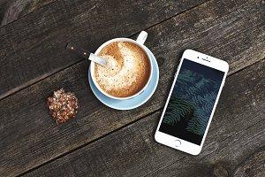 Coffee + iPhone7 plus - PHOTO