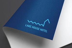 Lake House Logo Design