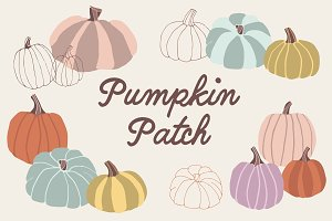 Pumpkin Patch - 13 png images
