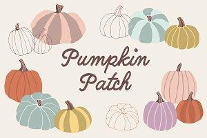 Pumpkin Patch - 13 png images