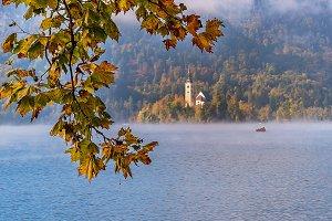 Autumn at Lake Bled