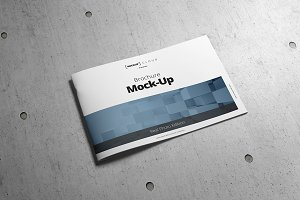 Brochure Mock-Up / A4 Landscape