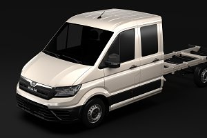 MAN TGE Chassi DoubleCab L3 2017