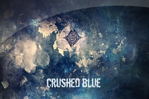 10 Textures - Crushed Blue