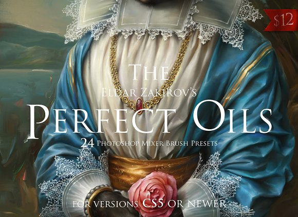 The Perfect Oils, MixerBrush Presets