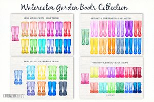 Garden Boots Collection Rubber Boots