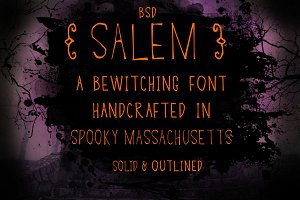 BSD Salem Font