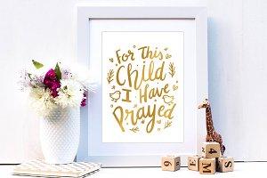 Nursery Print Art
