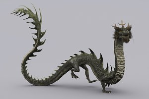 BLACK DRAGON fbx only