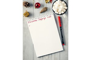 Christmas gifts shopping planning list