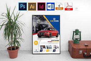 Poster | Car Wash Vol-04