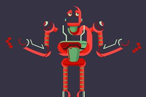 robot illustration