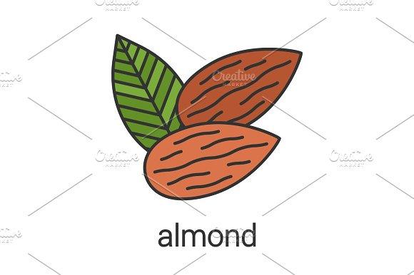 Almond Color Icon