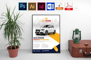 Poster | Car Wash Vol-06