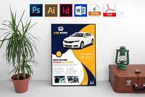 Poster | Car Wash Vol-07
