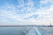 Harbor dock from Castellón, Spain