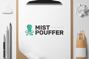 Mistpouffer logo template