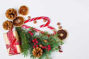Christmas decorative background