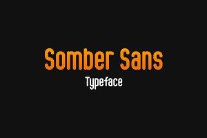 Somber Sans Typeface