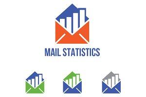 Mail Statistics Marketing Logo