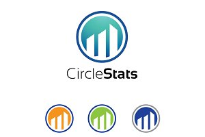 Circle Statistic Business Logo
