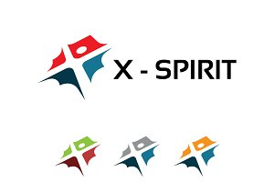 X Man Healthy Spirit Symbol