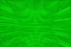 Curved green matrix illustration background