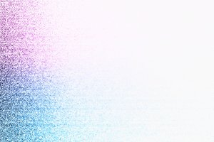 Pink and blue tv noise illustration background
