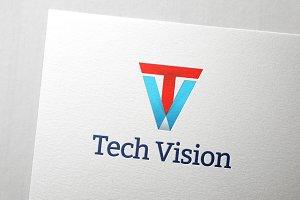 Tech Vision Logo - nex #009