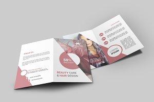 Hair Style Bi-Fold Brochure