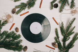 christmas music records