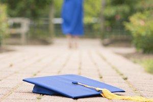 Graduate in Blue