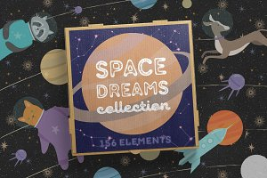 Space Dreams graphic collection -47%