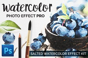Watercolor Photo Effect - Salted