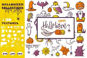 Halloween vector collection
