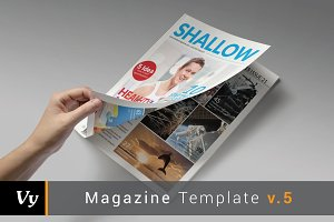 Shallow Magazine Template