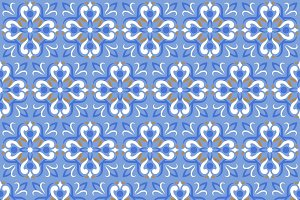 Ceramic texture seamless pattern
