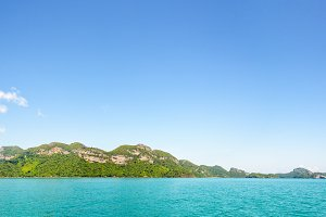 Panorama island in Thailand