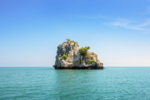 Small island in Thailand