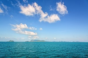 Seascape in Thailand