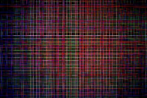 Neon matrix maze pattern illustration