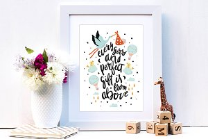 Nursery Art Print Design