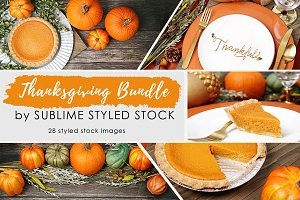 Thanksgiving Bundle of 28 Photos