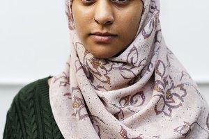 muslim woman solo