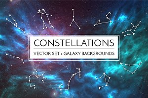 Galaxy Constellation Set