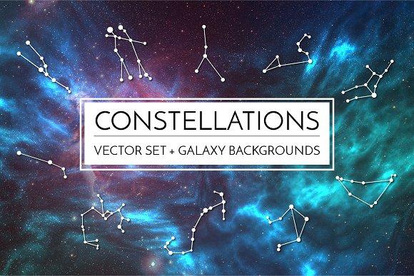 Galaxy Constellation Set
