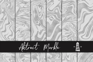 Silver Marble Overlays