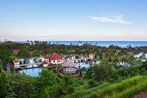 Taman Ujung water palace in Bali