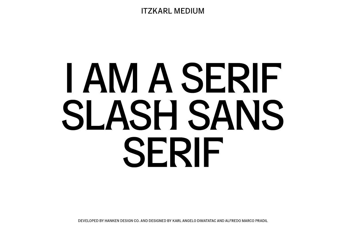 ItzKarl Typeface ~ Display Fonts ~ Creative Market