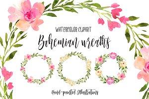 Bohemian wreaths